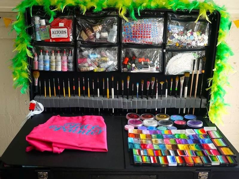 Facepainting Kits Paint Station Art Storage Containers Craft N Go