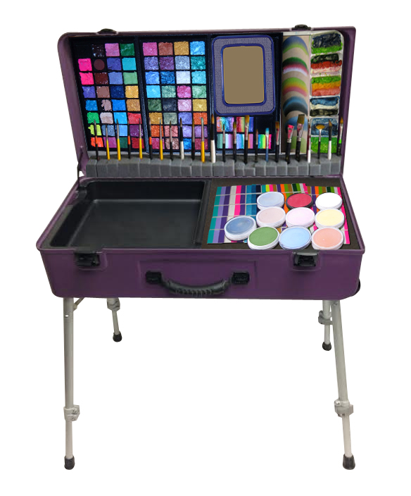 facepainting kits paint station art storage containers craft n go. Black Bedroom Furniture Sets. Home Design Ideas