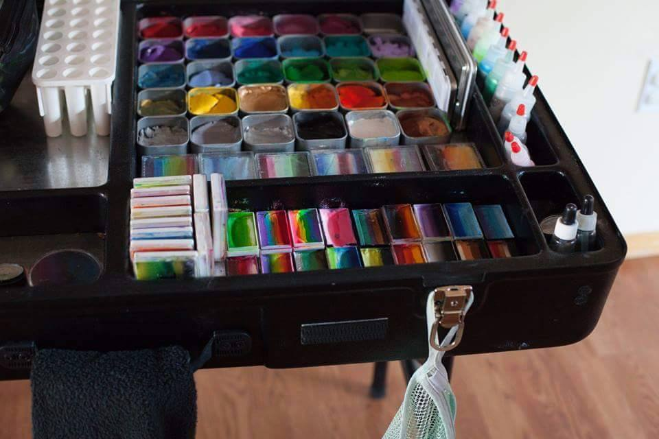 Paints in the Paint Station