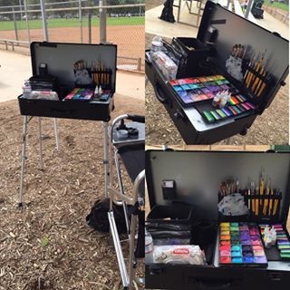Craft-n-Go Workstation Pro Set up for the Event