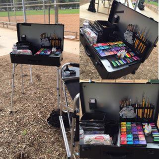 Craft-n-Go Workstation Pro Set up for the Event