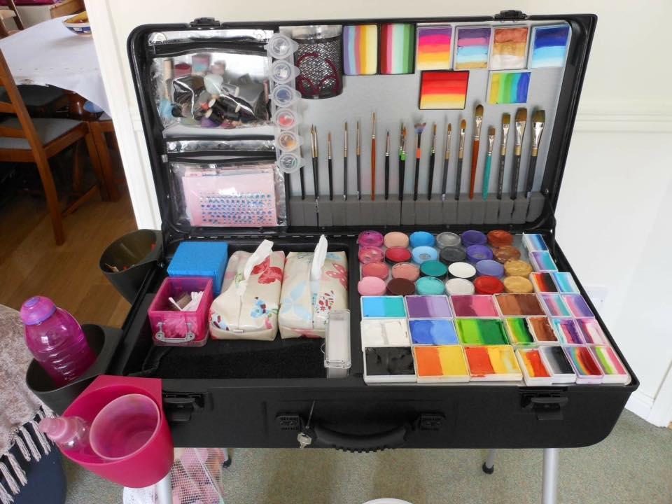 Face Painting Makeup Cases Saubhaya