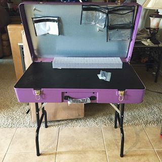 Craft-n-Go Paint Station with Table Skirt