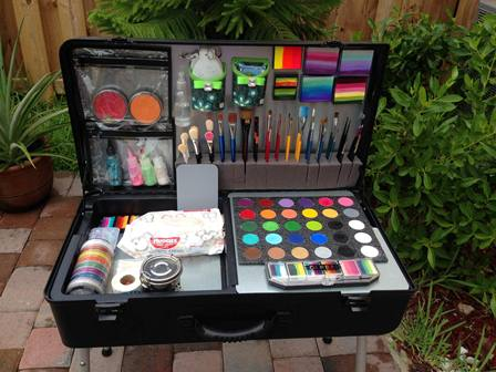 Craft-n-Go Paint Station with Chalk Board Lid