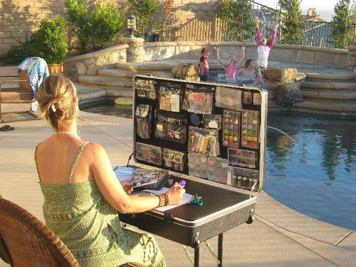 Crafting by the pool, Craft-n-Go Workstation Pro