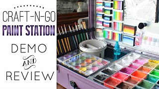 Craft-n-Go Paint Station Review and Demo