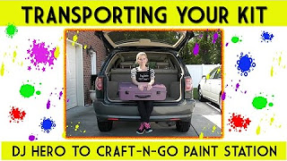 Transporting the Paint Station